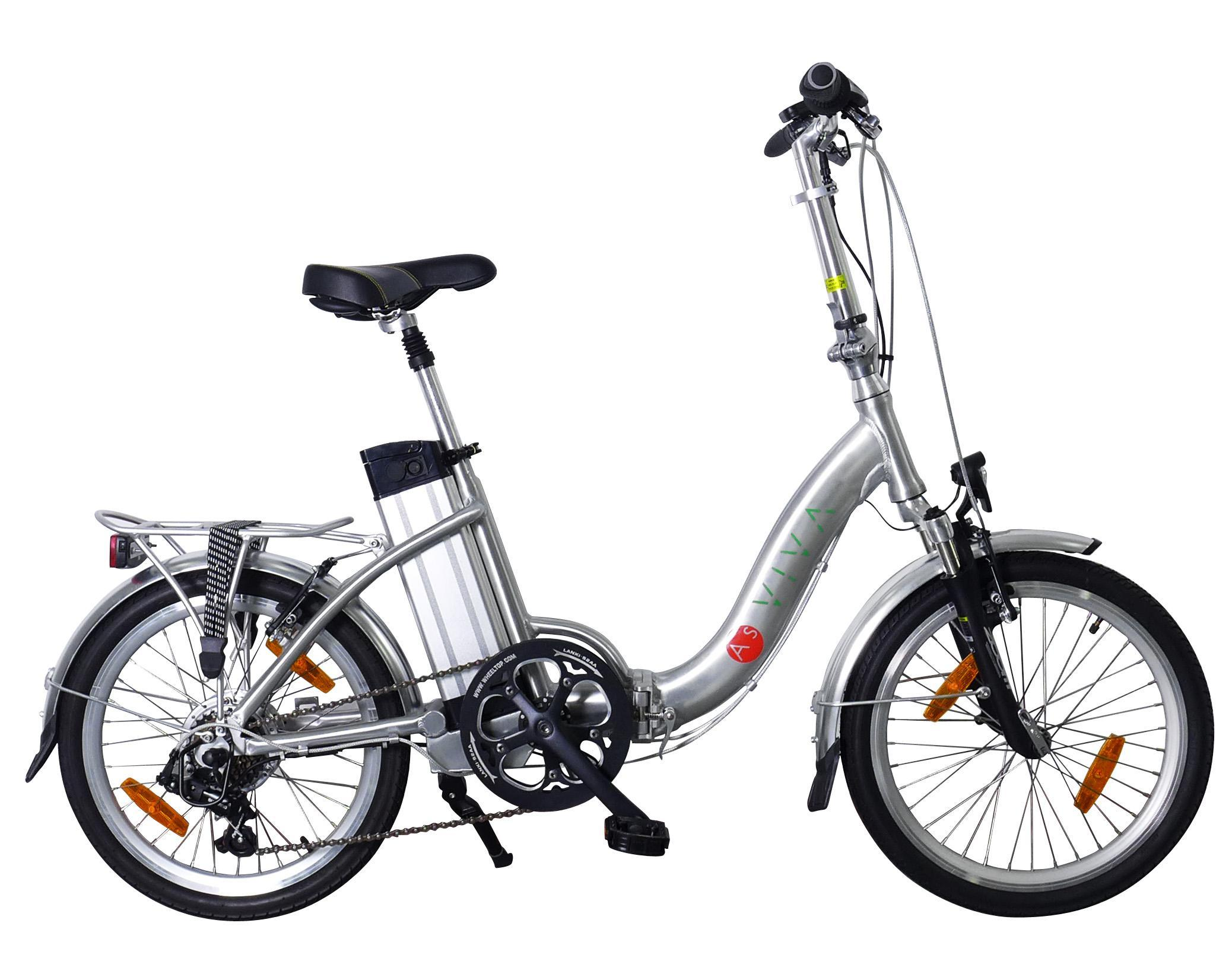 asviva b7 elektrofahrrad faltrad 20 zoll e bike mit 36v. Black Bedroom Furniture Sets. Home Design Ideas