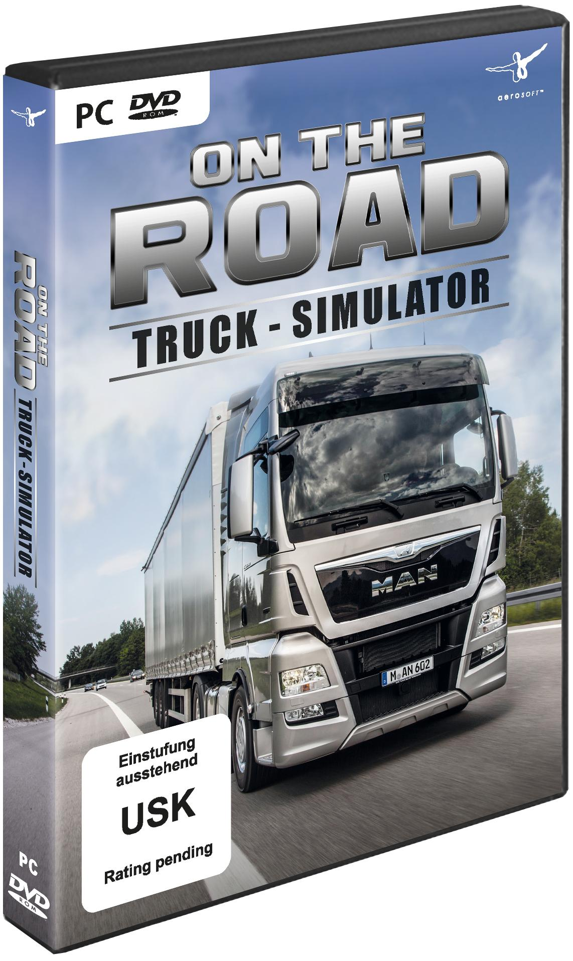 truck simulator on the road truck lkw simulator. Black Bedroom Furniture Sets. Home Design Ideas