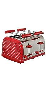 4 Scheiben Toaster TKG TO 1009 RWD