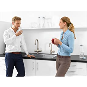 grohe red mono armatur und kombi boiler 8 liter c. Black Bedroom Furniture Sets. Home Design Ideas