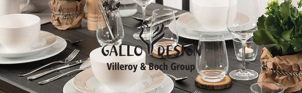 gallo design 19 5217 7127 design basic white kaffee set porzellan wei 18 teilig 6. Black Bedroom Furniture Sets. Home Design Ideas