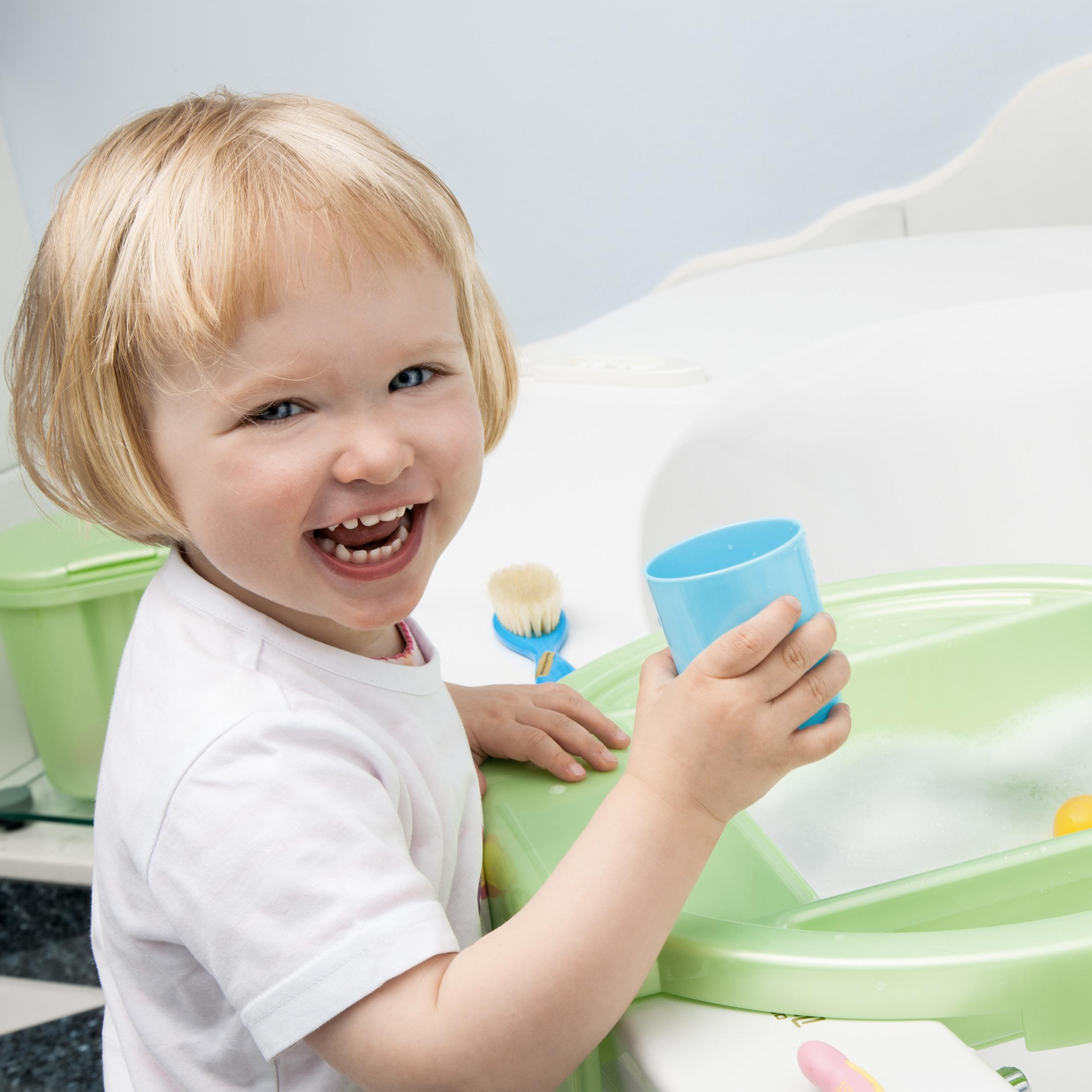 Rotho babydesign kiddy wash kinderwaschbecken / waschtisch für ...