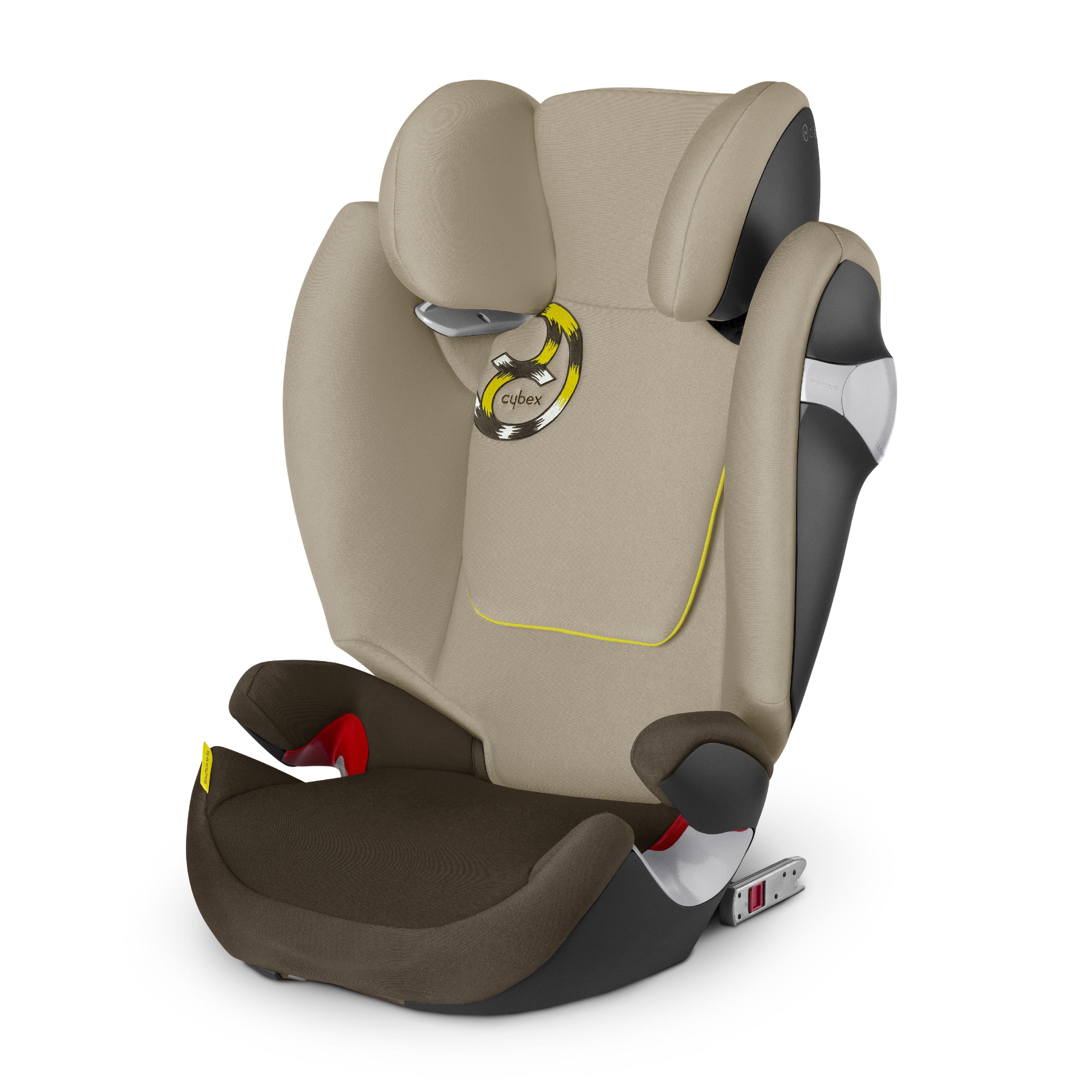 cybex gold solution m fix autositz gruppe 2 3 15 36 kg. Black Bedroom Furniture Sets. Home Design Ideas