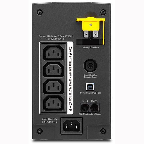 APC Back-UPS BX - Unterbrechungsfreie Stromversorgung