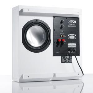 canton asf 75 sc aktiver subwoofer 60 120 watt schwarz st ck audio hifi. Black Bedroom Furniture Sets. Home Design Ideas