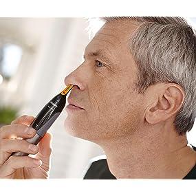 Philips Nasen und Ohrenhaartrimmer Series 3000 zum Trimmen