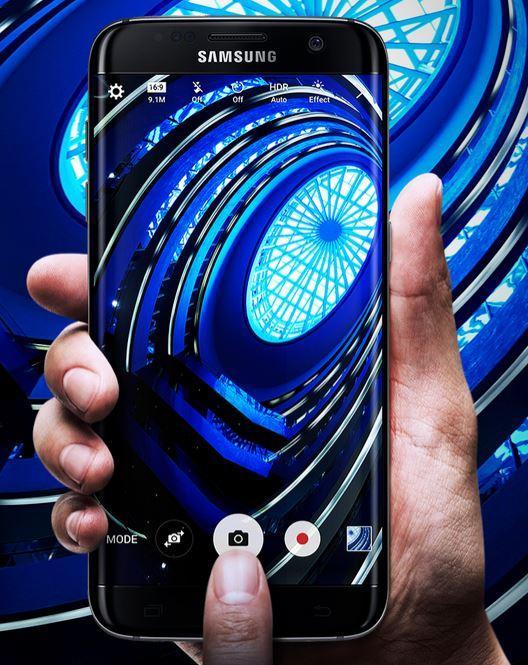 samsung galaxy s7 edge smartphone 5 5 zoll 32gb interner speicher und android 6 schwarz oder. Black Bedroom Furniture Sets. Home Design Ideas