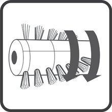 Kraftvolle Turbobürste
