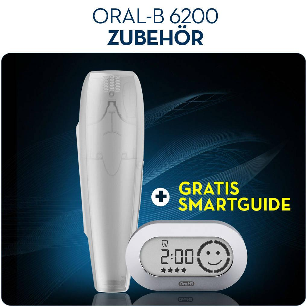 oral b pro6200 smartseries bluetooth 4 0 zahnb rste 3d elektrisch smartguide ebay. Black Bedroom Furniture Sets. Home Design Ideas