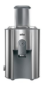 Braun Multiquick 5 Entsafter J500: : Küche & Haushalt