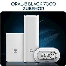 Braun Oral-B PRO 7000 elektrische Premium-Zahnbürste mit Bluetooth, schwarz
