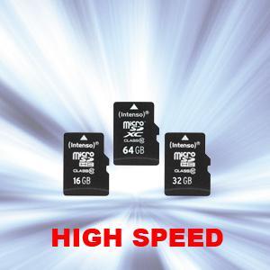 microSDHC/microSDXC Speicherkarte Class 10