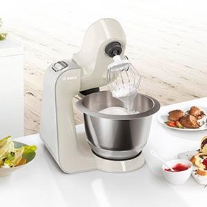 Amazon.de: Bosch MUM58L20 Küchenmaschine CreationLine, 1000 W, 3 ...