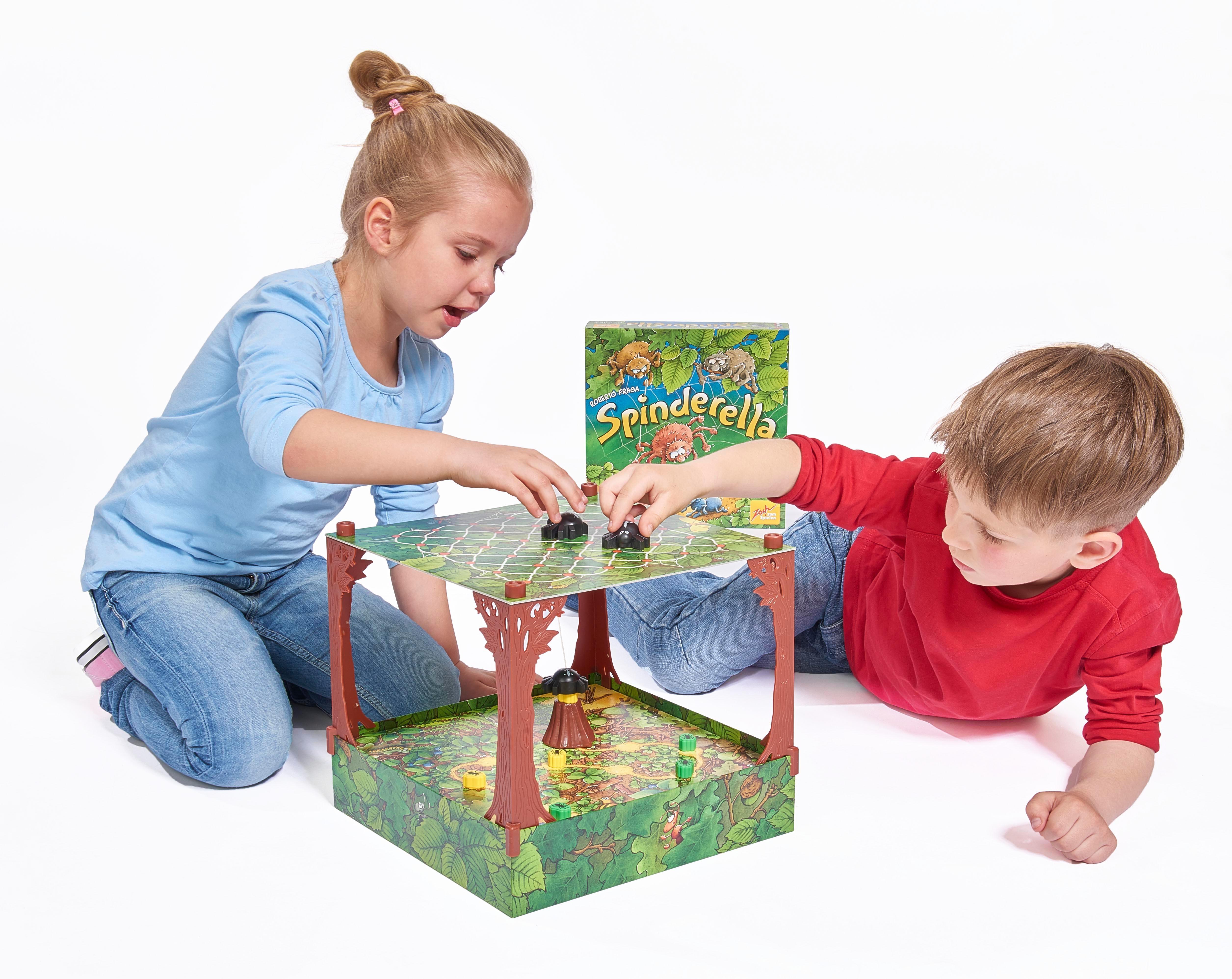 zoch 601105077 spinderella aktions und geschicklichkeitsspiele kinderspiel des jahres 2015. Black Bedroom Furniture Sets. Home Design Ideas