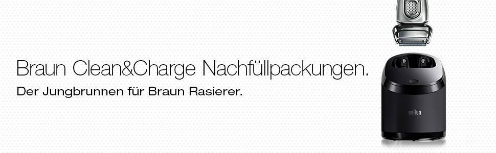 Braun Clean & Renew Nachfüllpackungen CCR