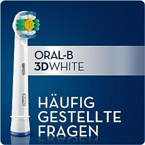 Braun Oral-B 3D White Aufsteckbürsten, 5er Pack