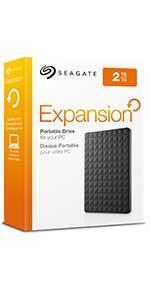 Seagate Expansion Portable Drive 2 GB