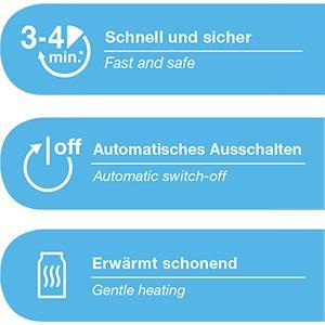 NUK Babykostwärmer Thermo Rapid, zur schnellen und schonenden Erwärmung