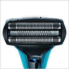 Braun WaterFlex WF2s Wet&Dry Rasierer (flexibler Scherkopf), blau
