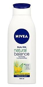 NIVEA Natural Balance Body Milk (Body Lotion)