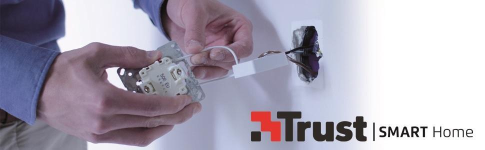 Trust Smart Home, drahtloses dimmen und schalten von Lampen und Geräte