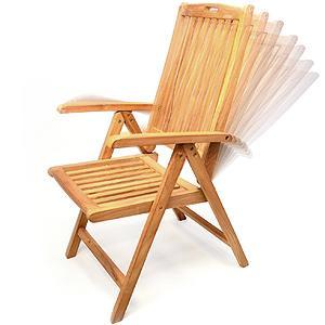 divero gl05005 gartenstuhl hochlehner klappstuhl teakstuhl teak holz stuhl mit. Black Bedroom Furniture Sets. Home Design Ideas