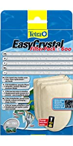 Tetra EasyCrystal Filter Pack 600C