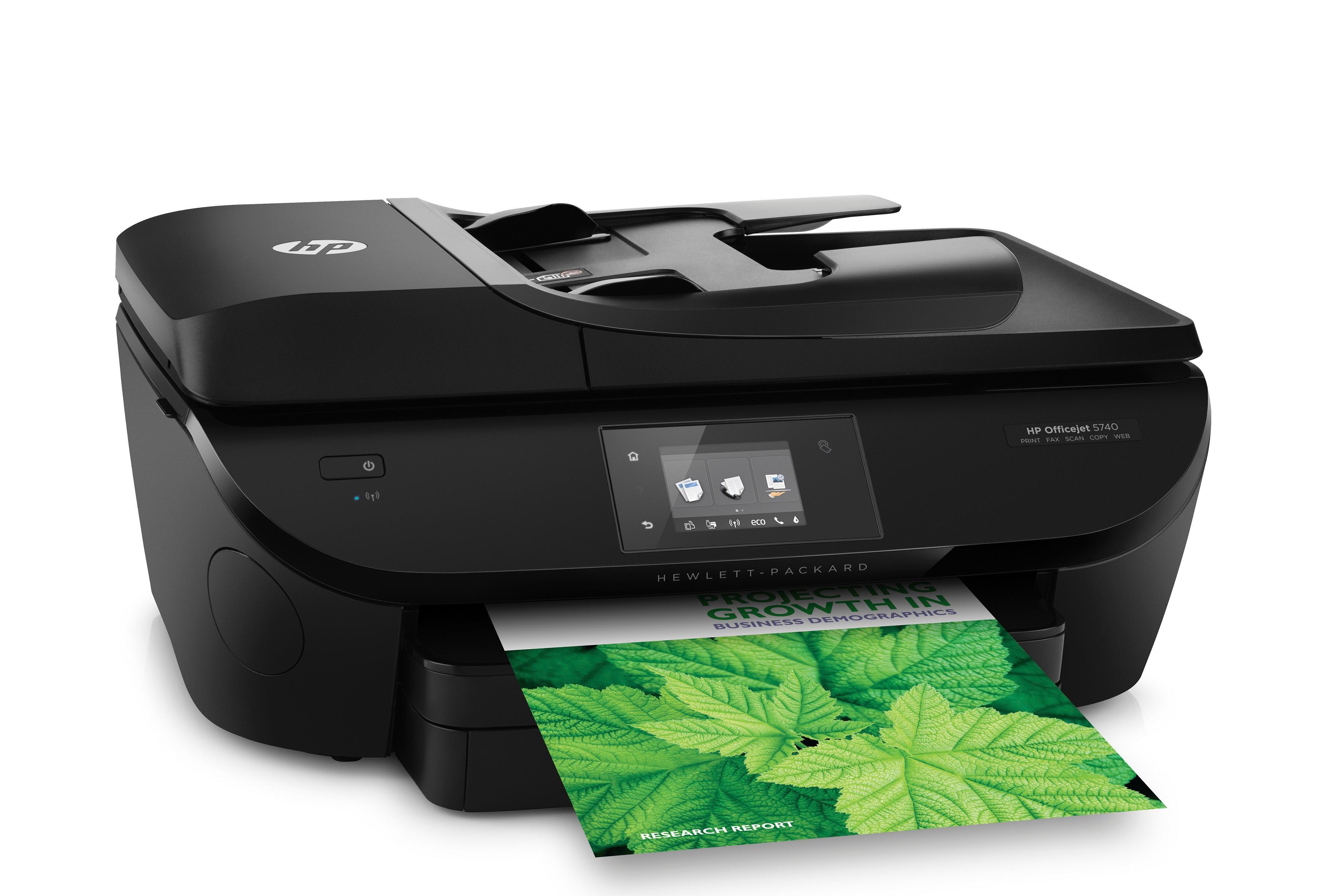 HP Officejet 5740 Multifunktionsdrucker schwarz: Amazon.de