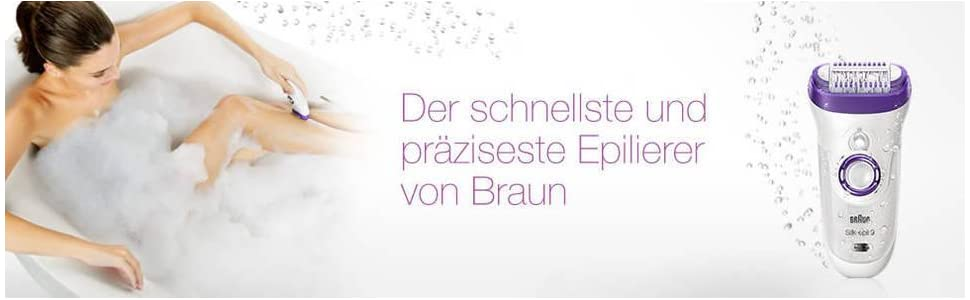 Braun Silk-épil 9 9-561- Wet & Dry Epilierer
