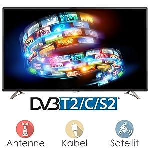 Thomson 50UB6406 127 cm (50 Zoll) Fernseher (Ultra HD