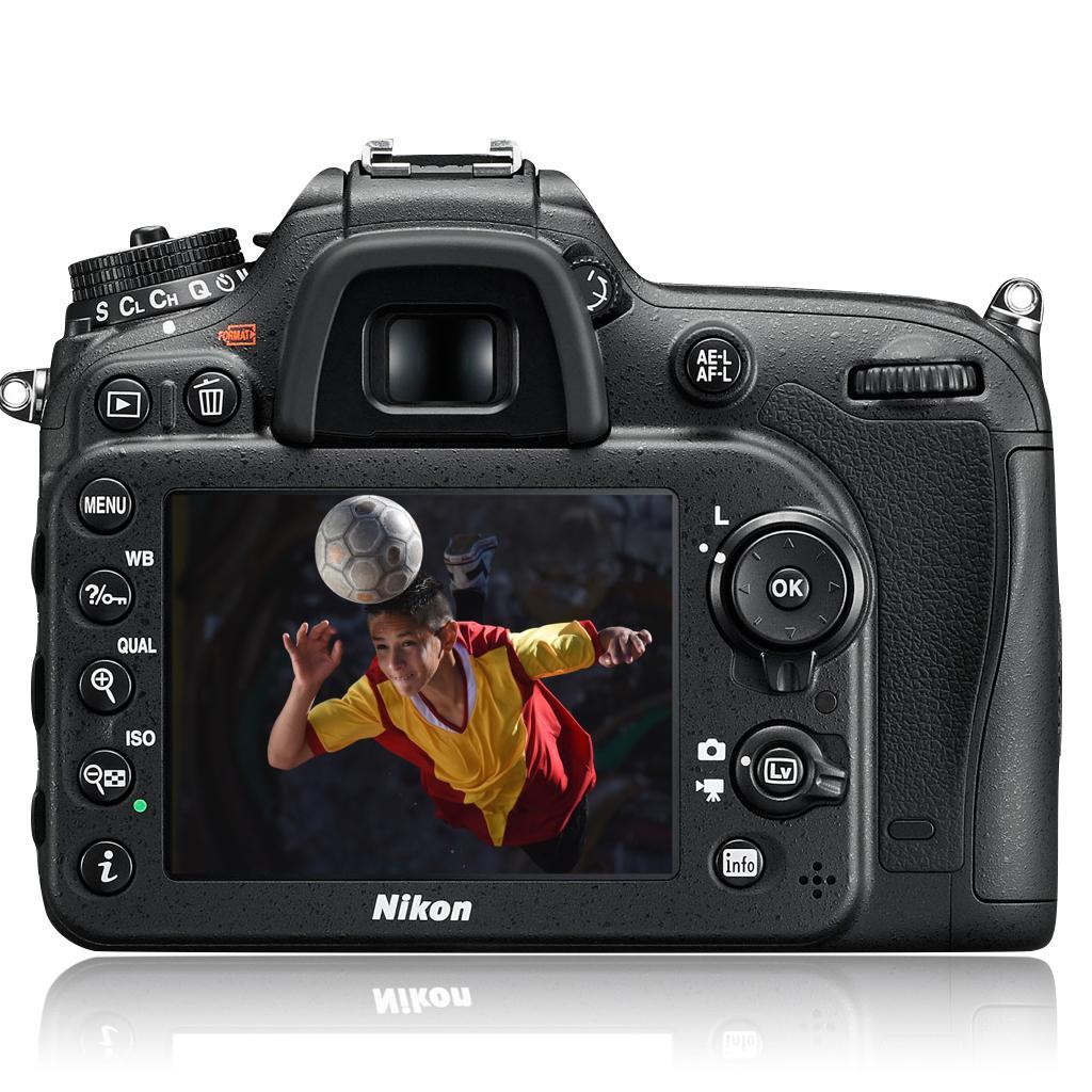 Der Autofocus der Nikon D7200
