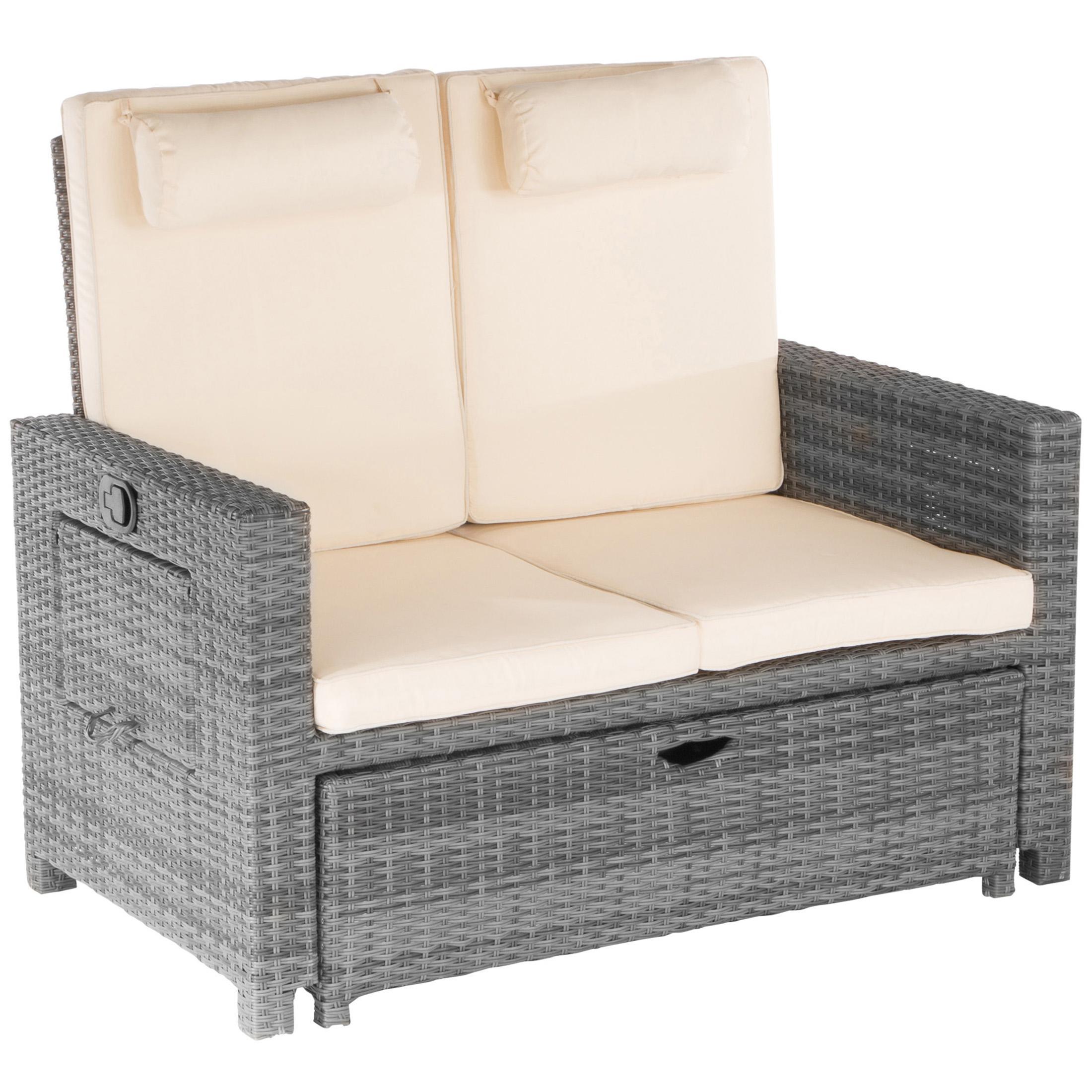 Couch Auflagen: Amazon.de: Ultranatura Poly-Rattan 2in1 Multicouch Inkl