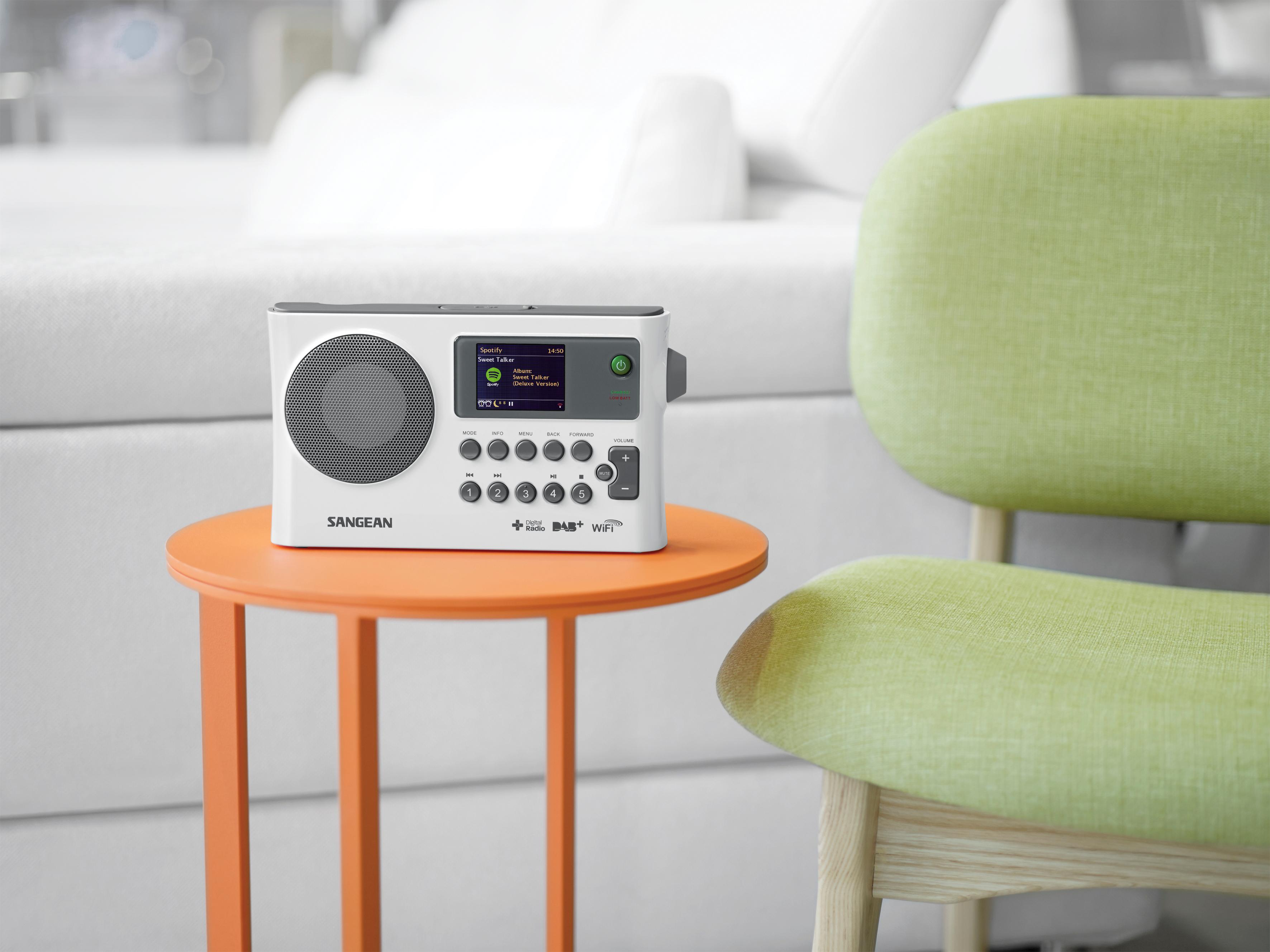sangean wfr 28c tragbares internetradio dab ukw tuner. Black Bedroom Furniture Sets. Home Design Ideas