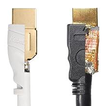 kabeldirekt; hdmi kabel weiss; hdmi kabel weiß; 4K; hdmi 2.0; hdmi; 1080p; vergleich;