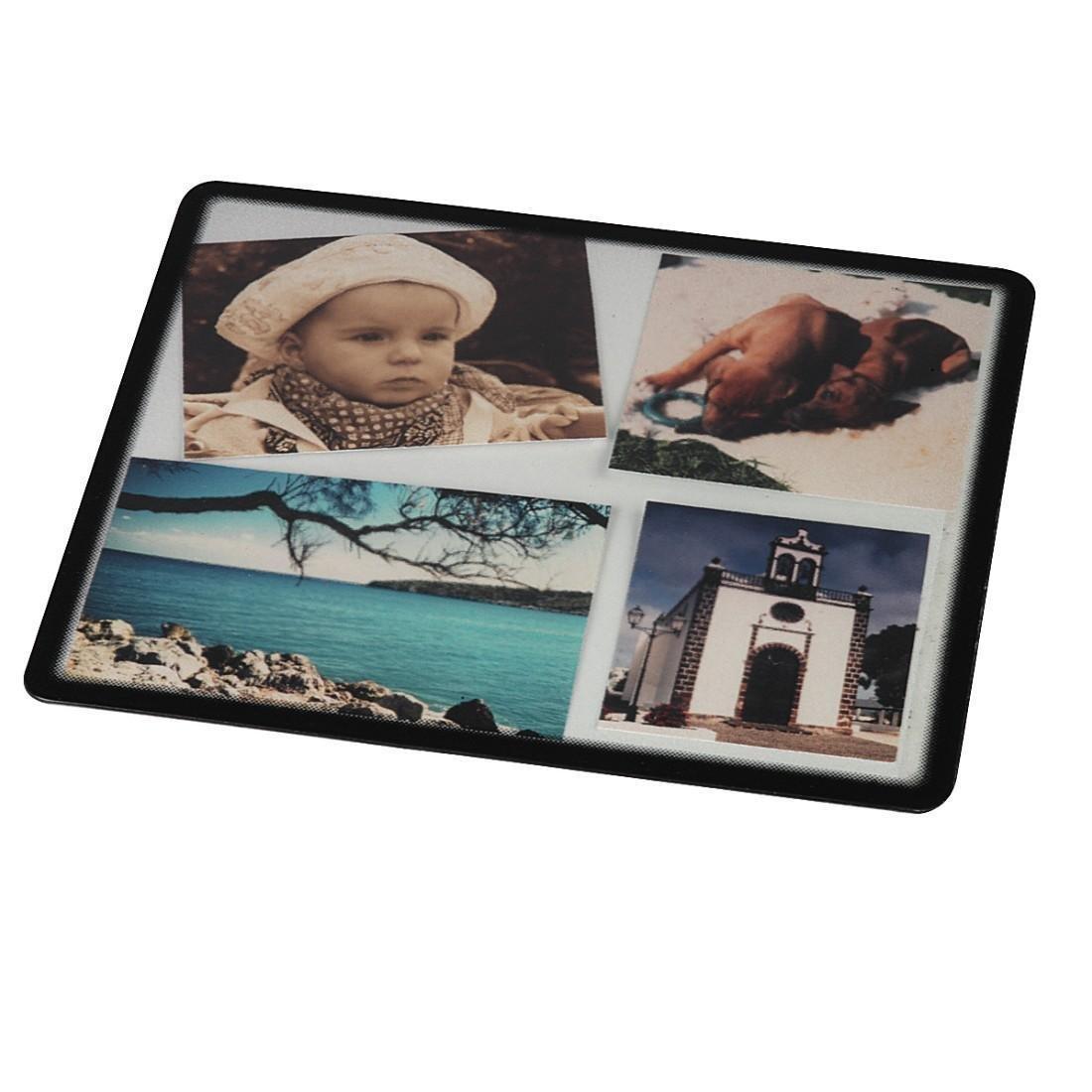 hama foto mauspad zum selbstgestalten mit fotos bildern oder postkarten 23 x 19 5 cm. Black Bedroom Furniture Sets. Home Design Ideas
