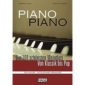 Piano Piano 1 - mittelschwer arrangiert