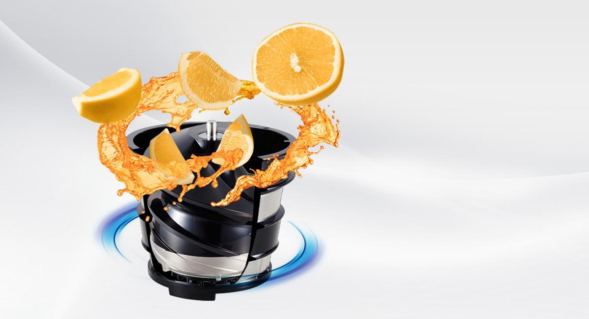 Amazon.de: Panasonic MJ-L500SXE Slow Juicer