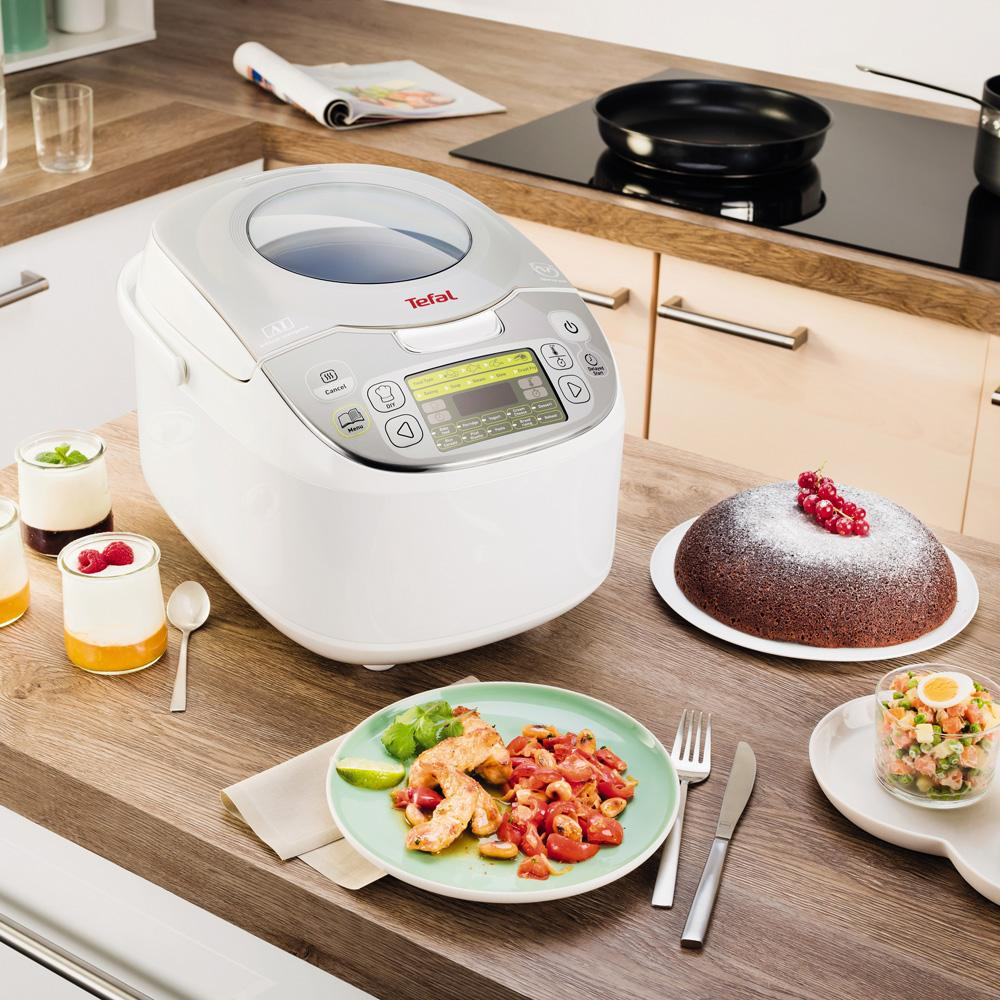 Amazon.de: Tefal RK8121 Multicooker 45 in 1, 750 W, 5 L
