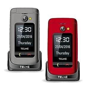 TELME X200 in Spacegrau und Rot