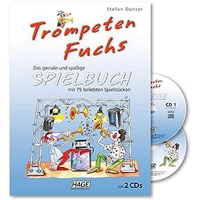 Trompeten Fuchs Spielbuch (mit 2 CDs)