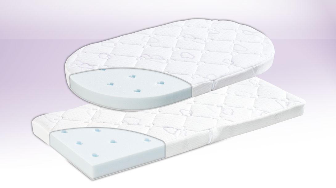 tr umeland t030703 stubenkorbmatratze brise light 37 x 70 cm baby. Black Bedroom Furniture Sets. Home Design Ideas