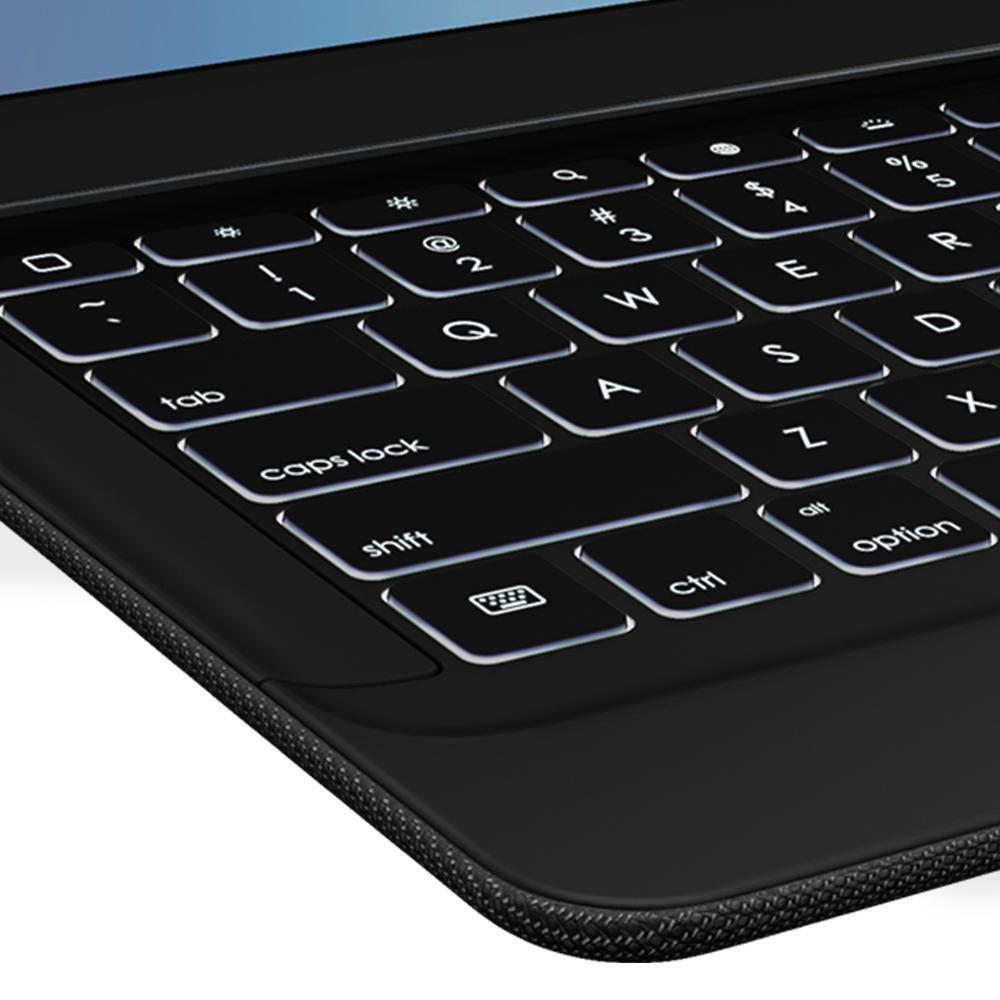 Logitech iPad Pro 12,9 Zoll Tastatur-Case schwarz: Amazon