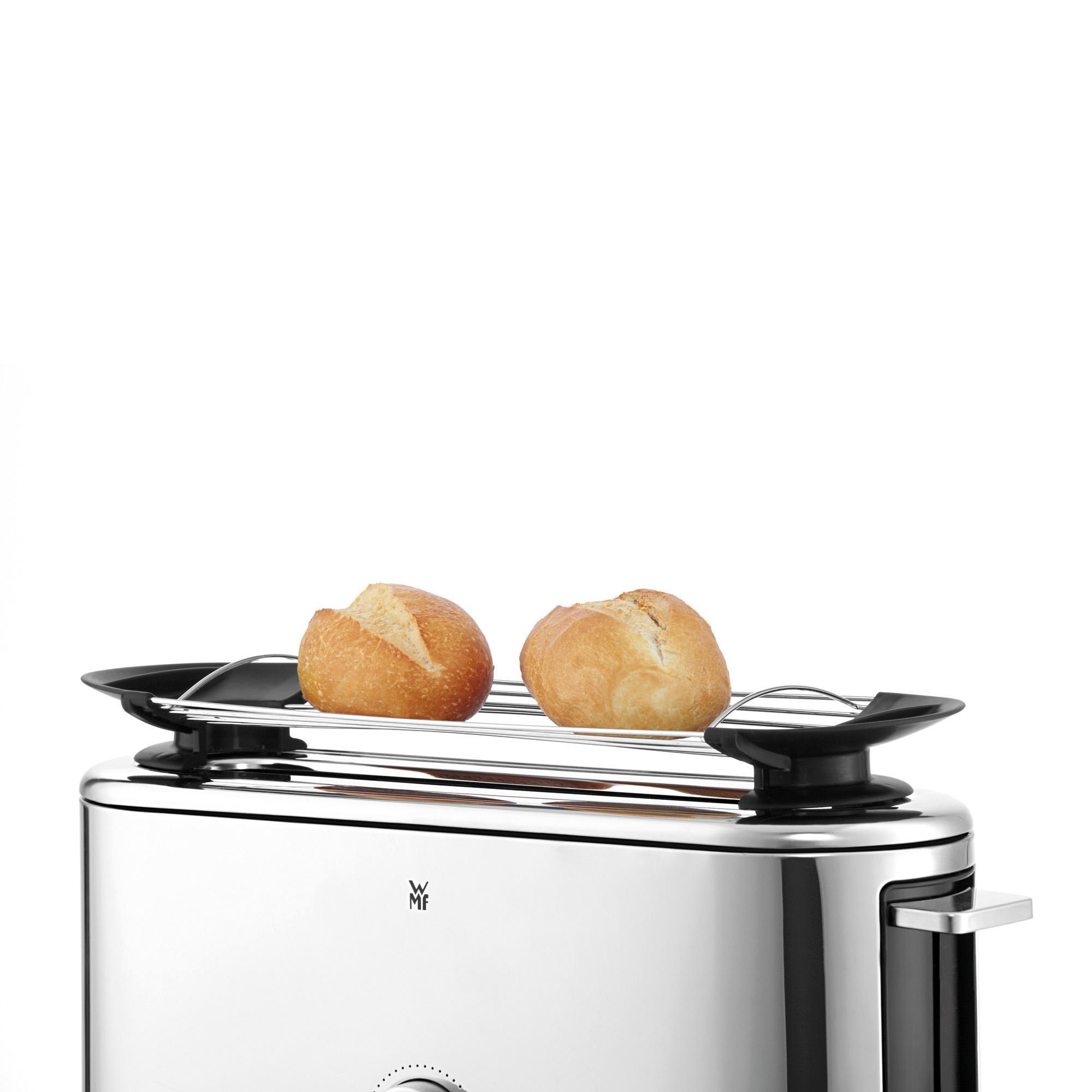 wmf lineo shine toaster langschlitz xxl toast br tchenaufsatz 10 br unungsstufen. Black Bedroom Furniture Sets. Home Design Ideas