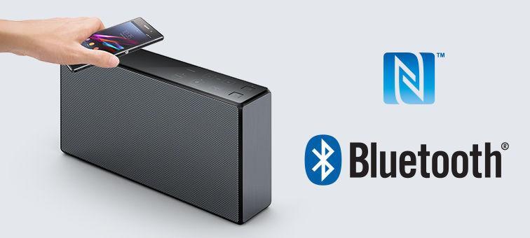 sony srs x55 bluetooth lautsprecher 20 watt tragbar. Black Bedroom Furniture Sets. Home Design Ideas