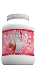 Premium Pro Protein Erdbeer-Sahne