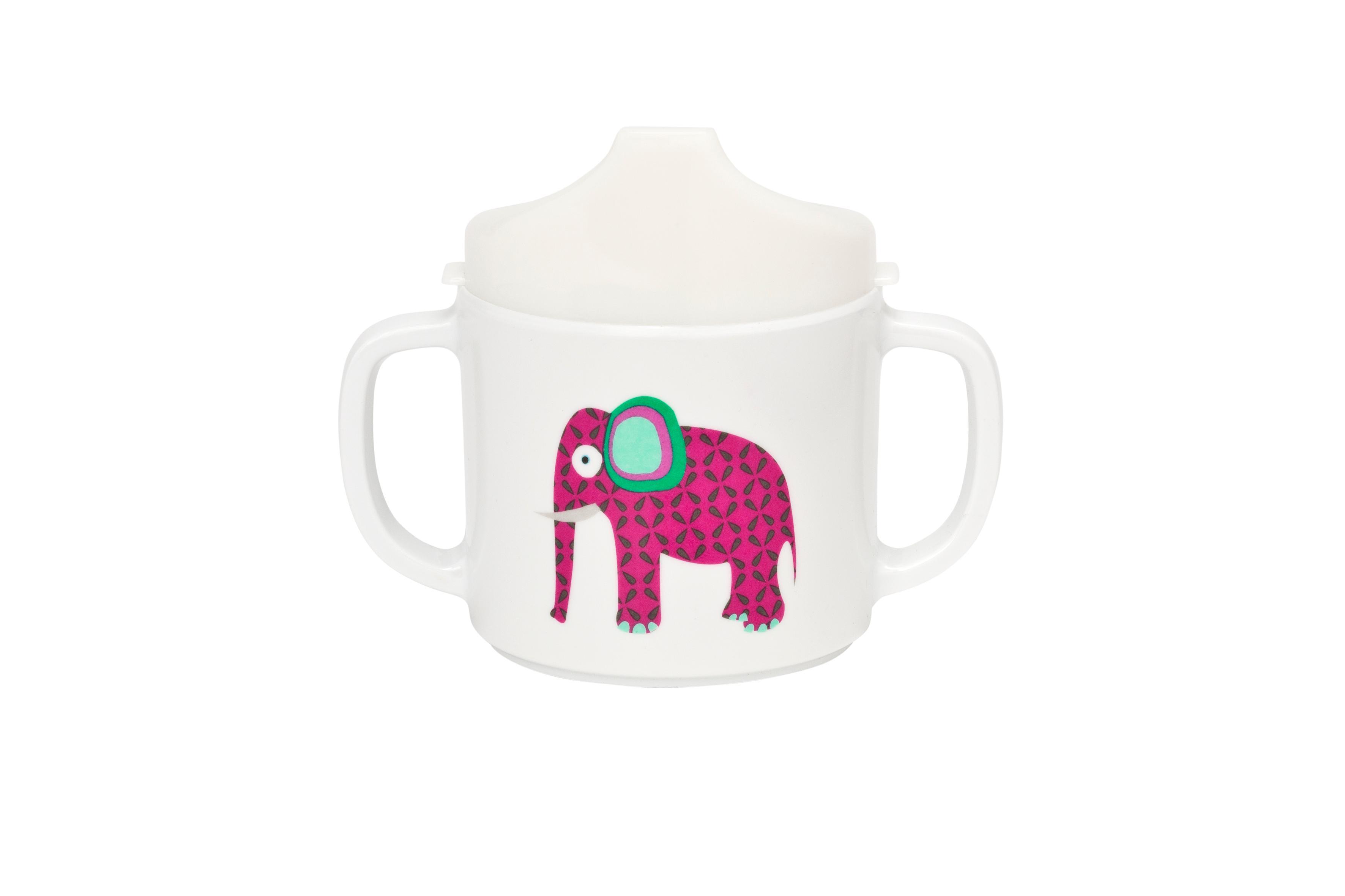 Lässig Dish Cup Melamin Tasse Trinkbecher mit Henkel