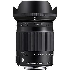 Sigma 18 300 3 5 6 3 Dc Macro Hsm Lens Camera Photo