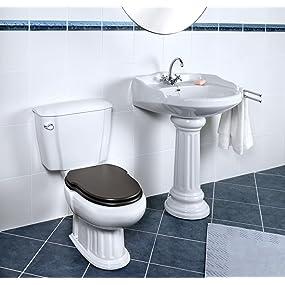 cornat grecia nostalgie wc kombination mit wc sitz und sp lkasten weiss baumarkt. Black Bedroom Furniture Sets. Home Design Ideas