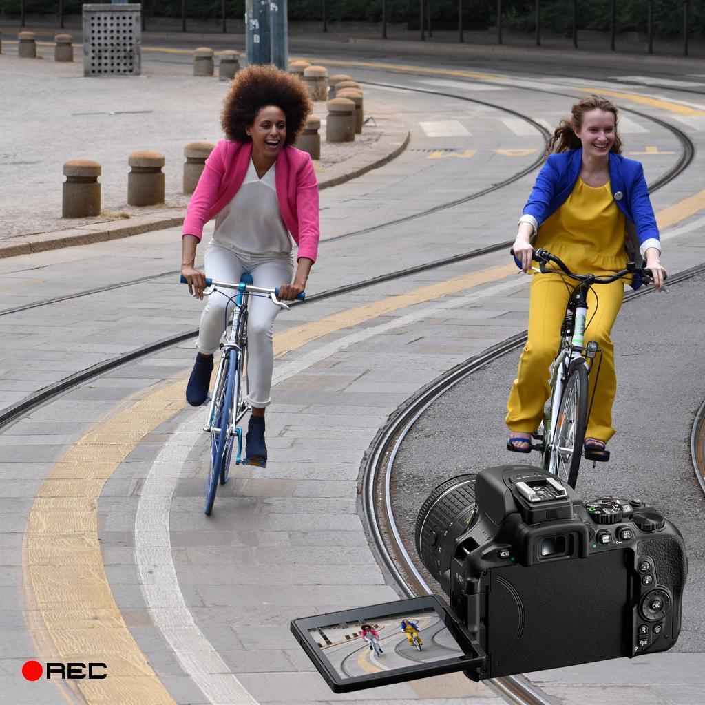 Full-HD-Video mit bis zu 60 Bildern/s und Zeitrafferaufnahme