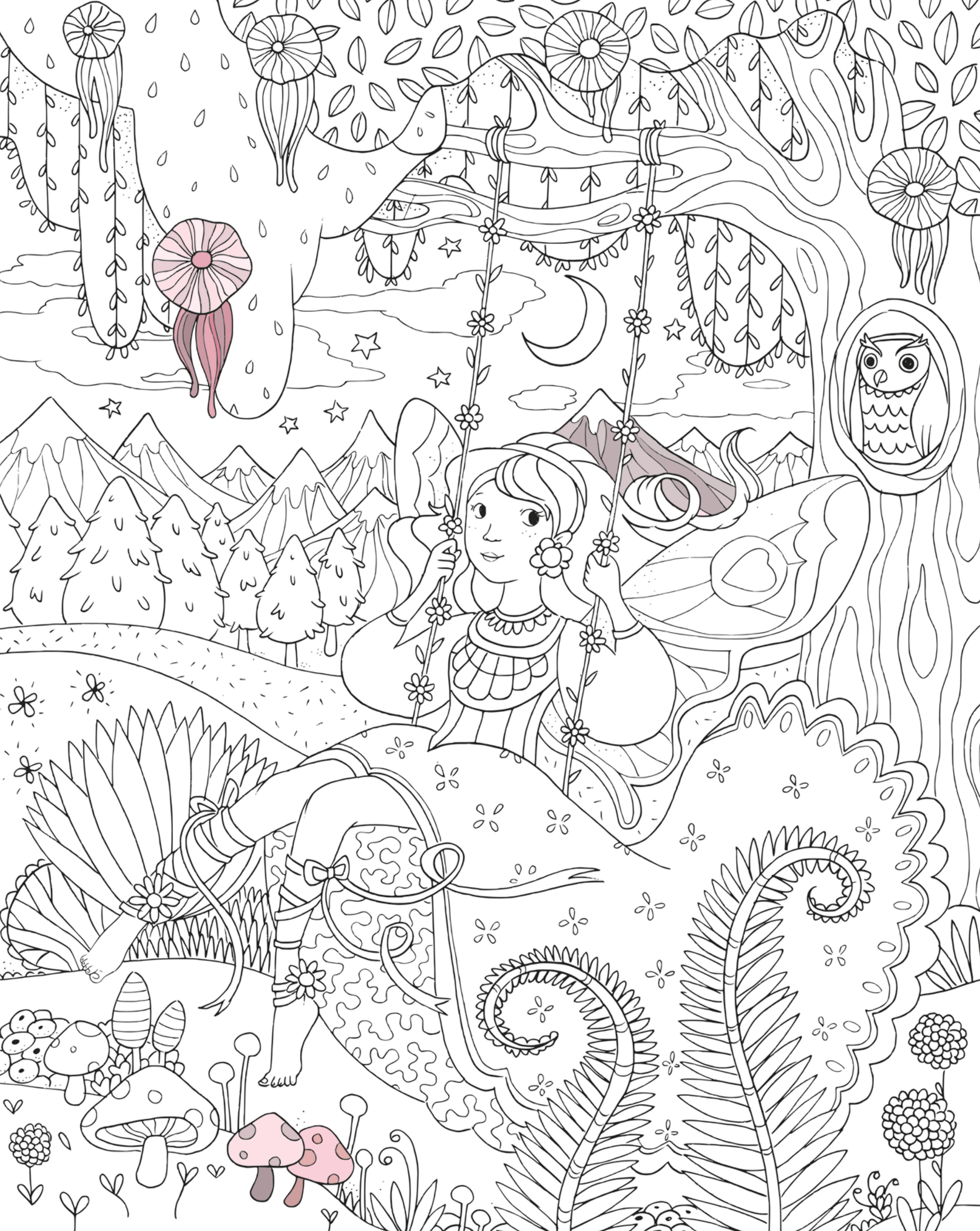 Die verzauberte Reise: Ein magisches Malbuch: Amazon.de: Isabelle ...